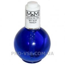 Масло Ванильное для ногтей и кутикулы Cuticule Oil Vanilla Sky Blue M-in-M 75 г