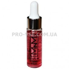 Масло Барбарис для ногтей и кутикулы ароматизированное Cuticule Oil Yummy Pink M-in-M с пипеткой-дозатором 15 г
