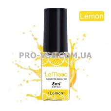 Масло для ногтей и кутикулы Лемон LeMooc 8 мл фото | PRO-VSE