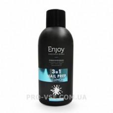 Enjoy подготовитель ногтя 3 в 1  универсальная жидкость 150 мл