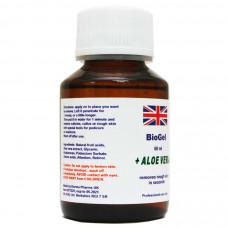 Биогель для педикюра - BioGel Aloe Vera 60 мл средство для удаления натоптышей, кислотный пилинг для педикюра фото
