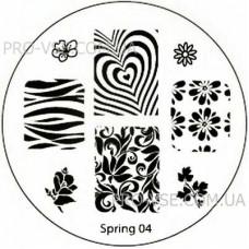 Диск для стемпинга Spring 04
