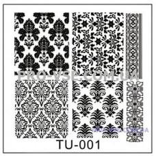 Пластина для стемпинга TU-001