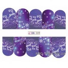 Водные наклейки BN-209
