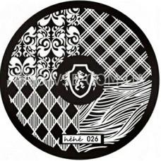 Диск для стемпинга Hehe-026  (055)