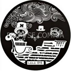 Диск для стемпинга Hehe-015