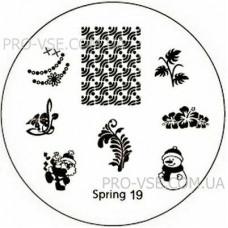 Диск для стемпинга Spring 19