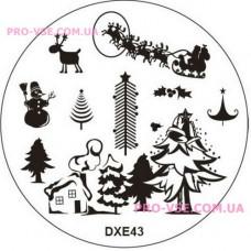 Диск для стемпинга DXE 43