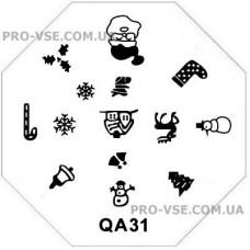 Диск для стемпинга QA 31