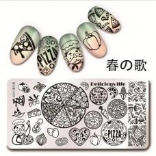 Пластина для стемпинга Harunouta L023 фото | PRO-VSE