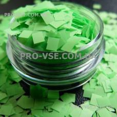 Квадрат неоновый Зеленый