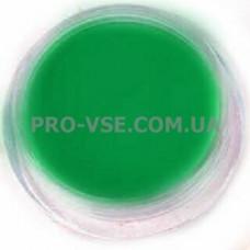 Акриловая пудра Зеленый