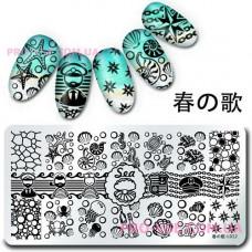 Пластина для стемпинга Harunouta L012 фото | PRO-VSE