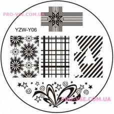 Диск для стемпинга YZW-Y-06 фото | PRO-VSE