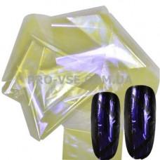 Фольга #6 Желтая Эффект Битое стекло фото | PRO-VSE