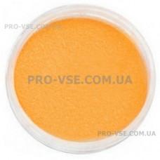 Бархатный песок Оранжевый для ногтей фото | PRO-VSE