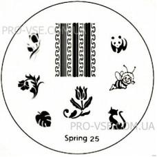 Диск для стемпинга Spring 25