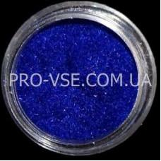 Бархат (кашемир, велюр, флок) Синий
