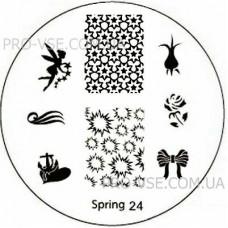 Диск для стемпинга Spring 24