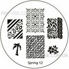 Диск для стемпинга Spring 12
