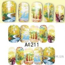 Водные наклейки A-1211