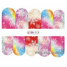 Водные наклейки BN-213