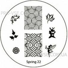 Диск для стемпинга Spring 22