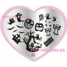 Пластина LOVE Heart 22
