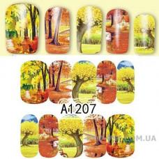 Водные наклейки A-1207