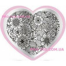 Пластина LOVE Heart 10