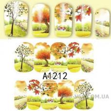 Водные наклейки A-1212