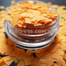 Квадрат неоновый Оранжевый