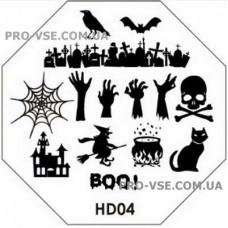 Диск для стемпинга HD 04