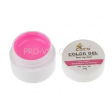Гель-краска GD COCO ClorGel Т145 розовый