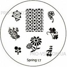 Диск для стемпинга Spring 17