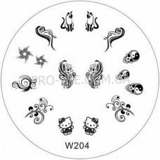 Диск для стемпинга W 204 фото | PRO-VSE