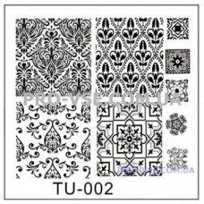 Пластина для стемпинга TU-002