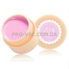 Гель краска CANNI 516 розовый