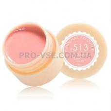 Гель краска CANNI 513 нежный розовый