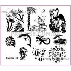Пластина Helen 03