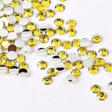 Стразы Желтые 2mm (100 шт.)