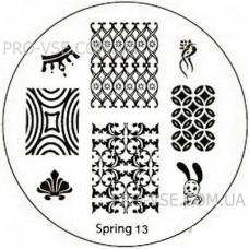 Диск для стемпинга Spring 13