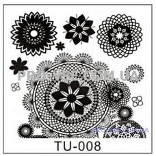 Пластина для стемпинга TU-008 фото | PRO-VSE