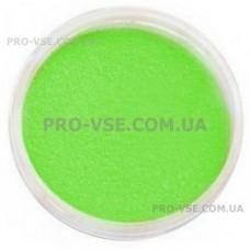 Бархатный песок Зеленый для ногтей фото | PRO-VSE