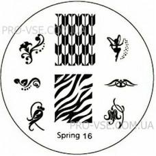 Диск для стемпинга Spring 16