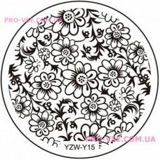 Диск для стемпинга YZW-Y-15 фото | PRO-VSE