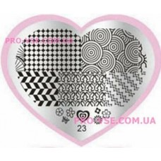 Пластина LOVE Heart 23