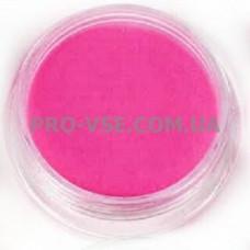 Акриловая пудра Яркий розовый