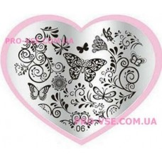 Пластина LOVE Heart 06