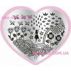 Пластина LOVE Heart 17